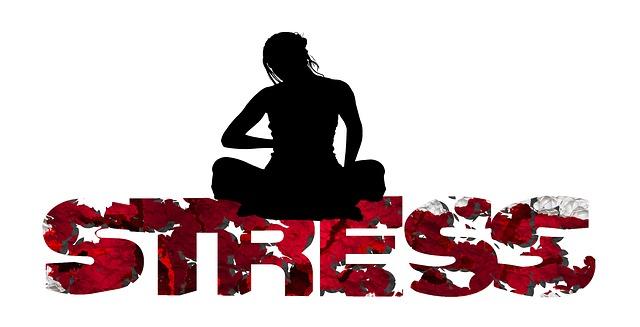 žena ve stresu