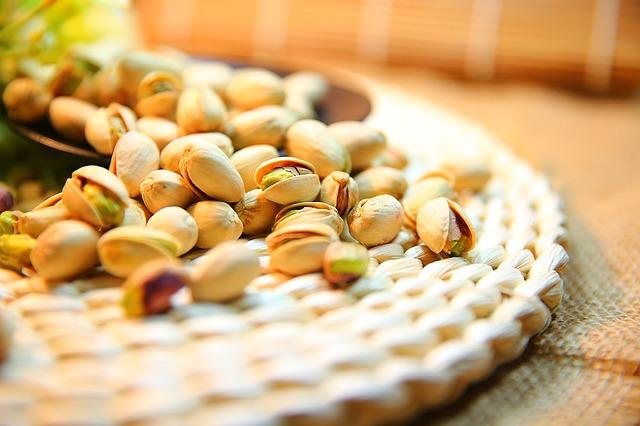 pistácie ořechy