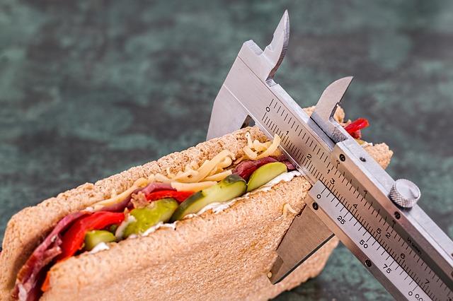 měření jídla