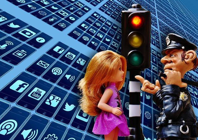 policista u semaforu