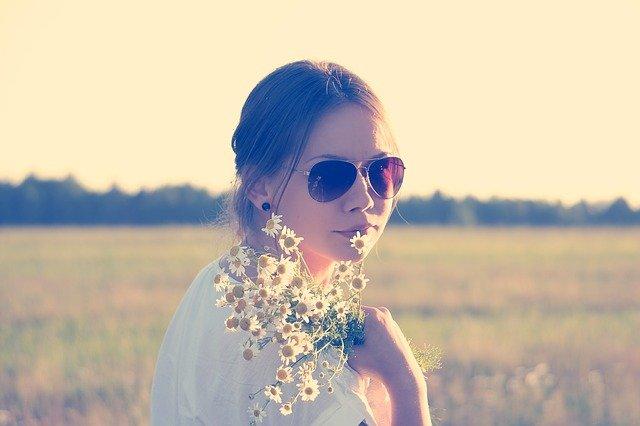 květinové dítě